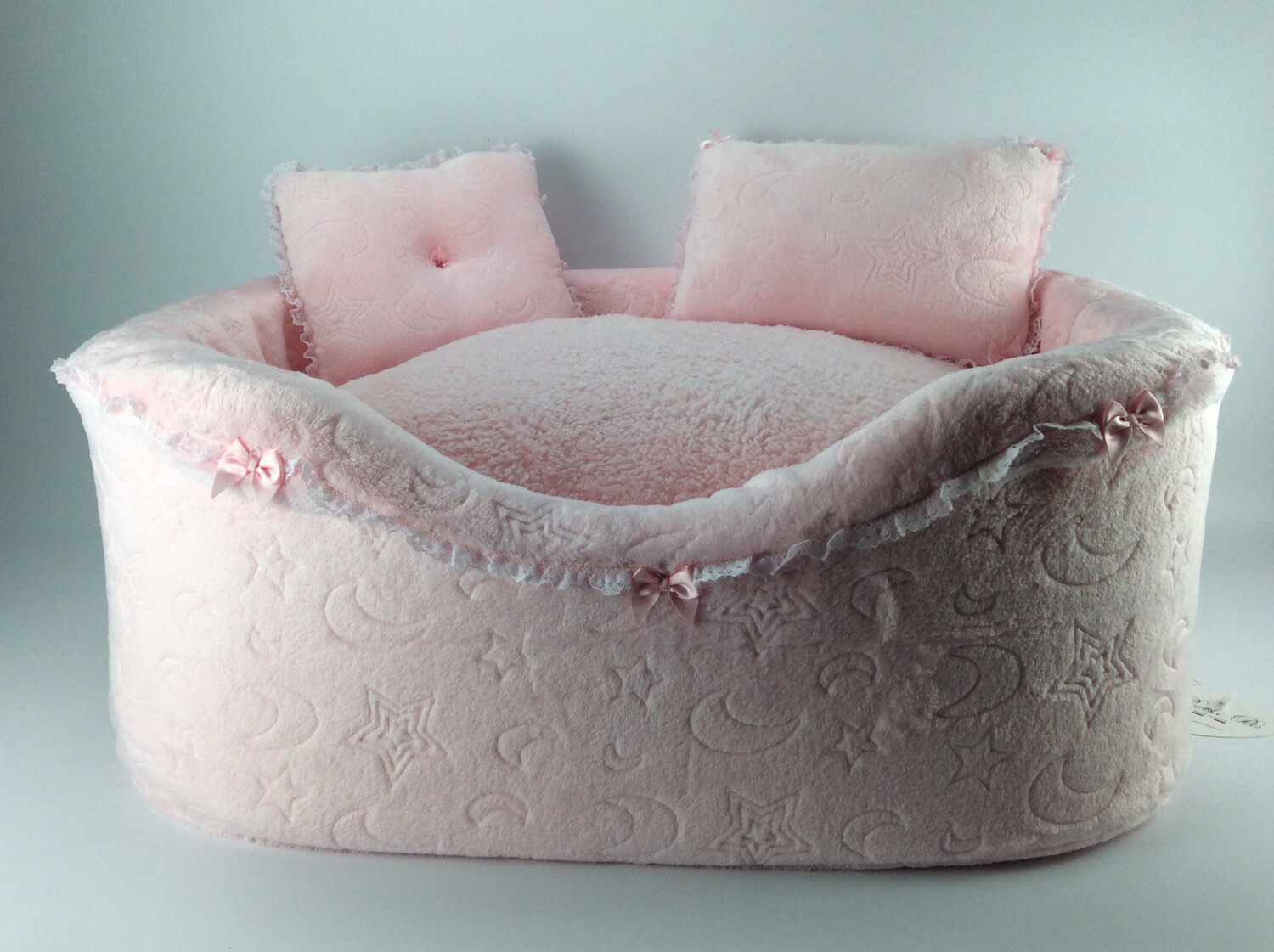 Full bed peluche pink moon
