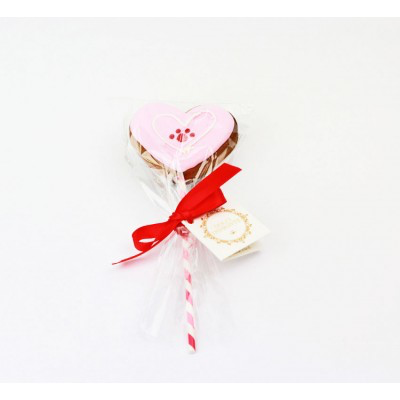 Heart lollipop 40gr