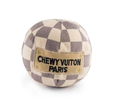 Checker Chewy Vuiton ball L