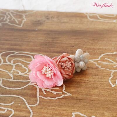 Vintage flower hairclip