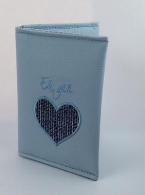 Paspoorthoesje Eh Gia blauw