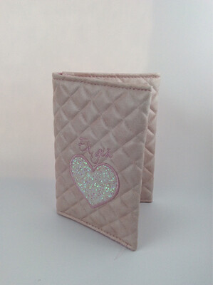 Paspoorthoesje Eh Gia roos
