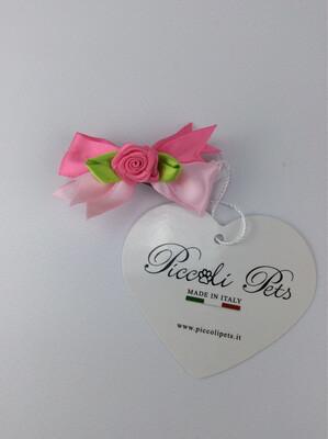 Pretty rose hair clip