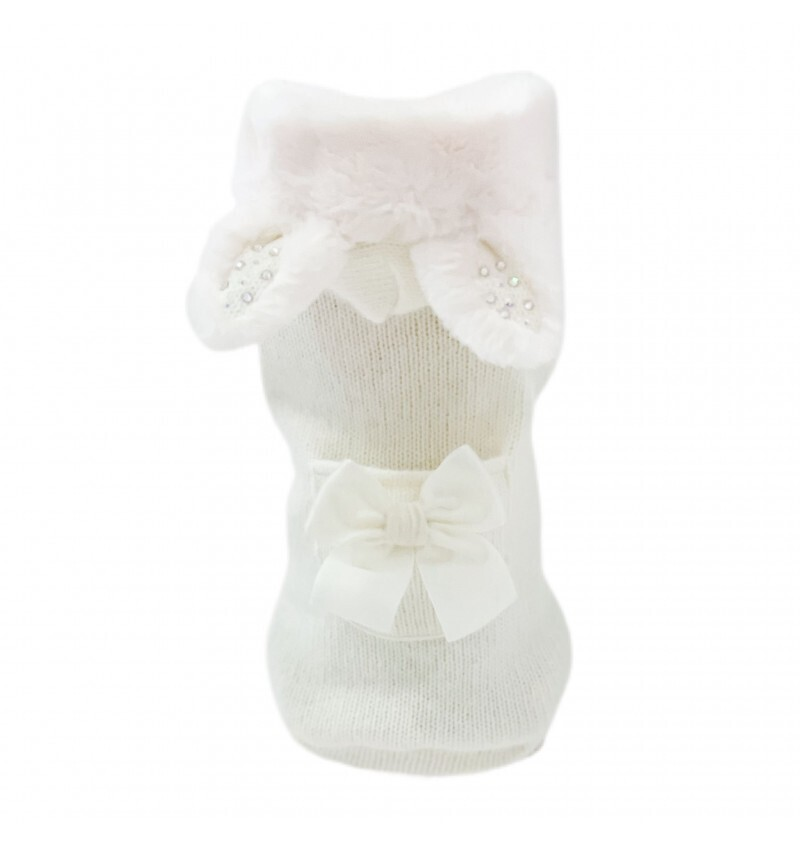 Crystal bunny white pull