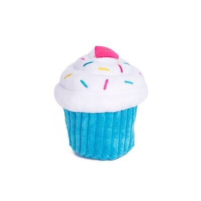 Cup cake blue