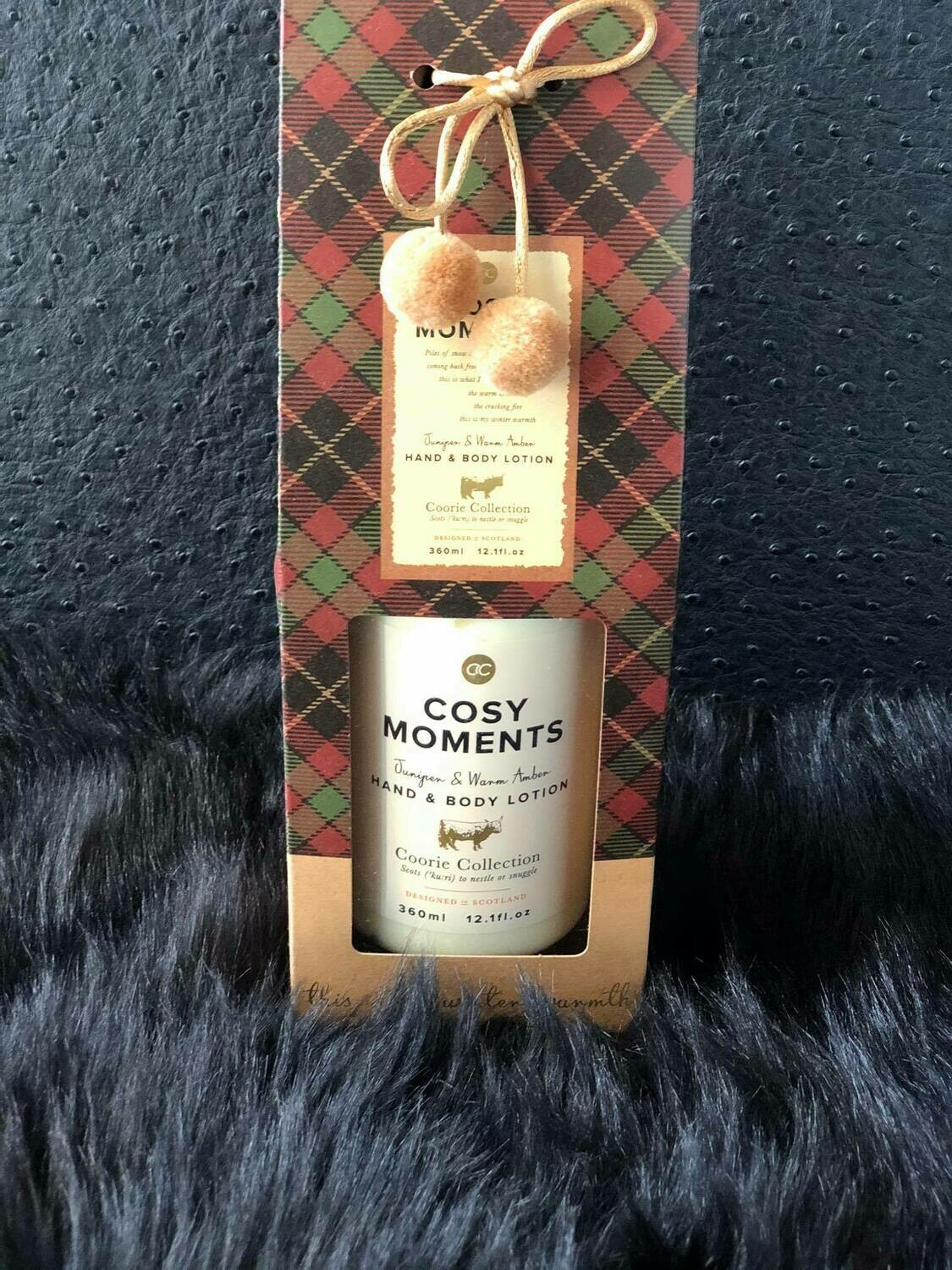 Cosy moments - hand & body lotion