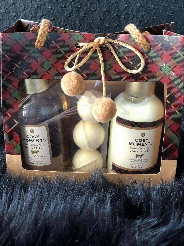 Cosy moments - Shower gel & body lotion & bruisballen