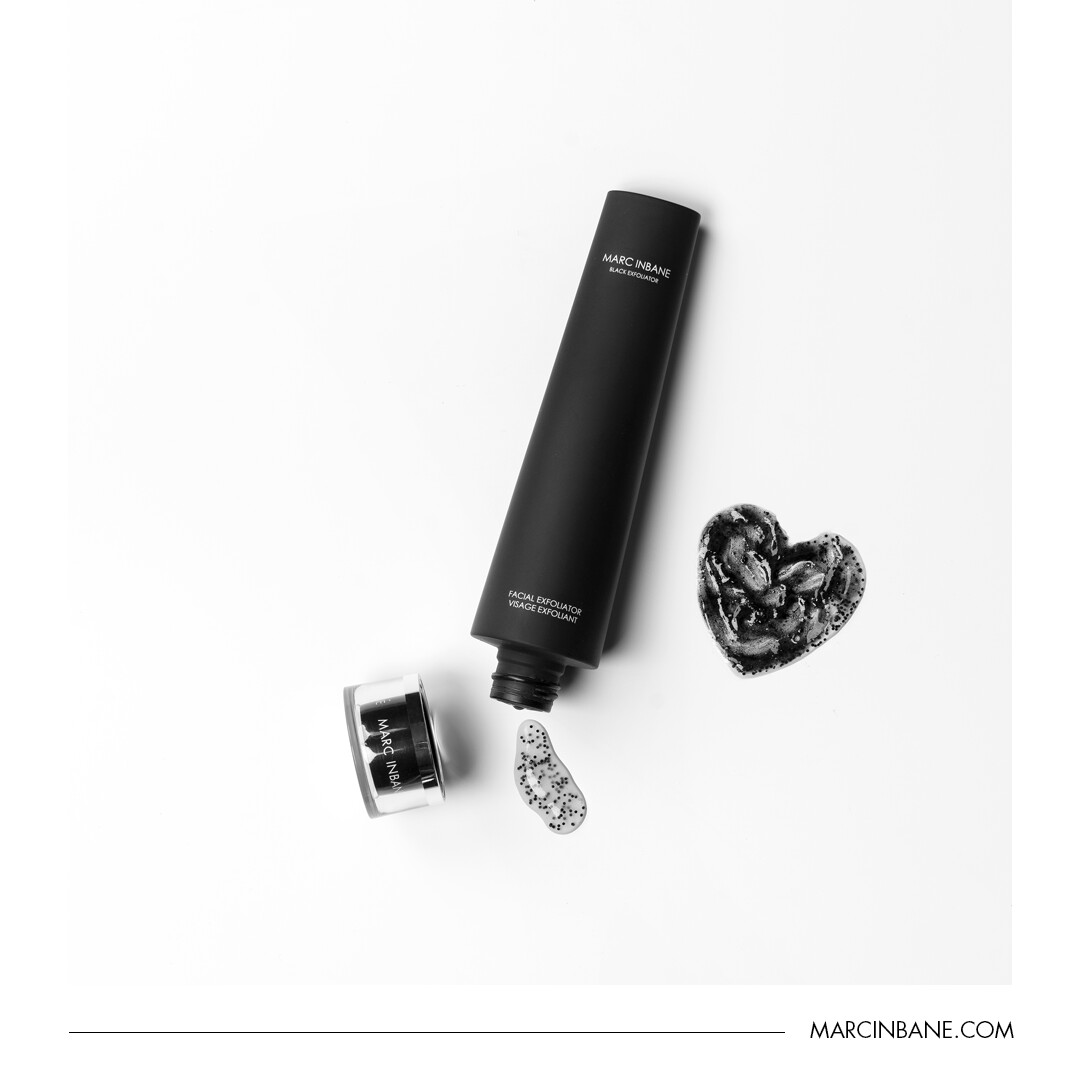 Black exfoliator 75ml