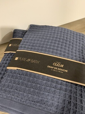 Handdoek Donker Blauw