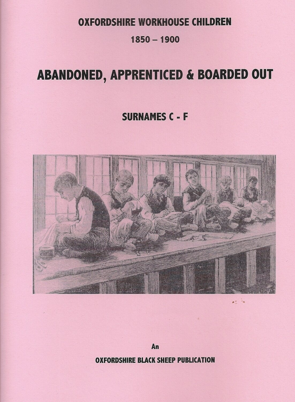 Oxfordshire Workhouse Children C to F