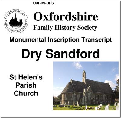 Dry Sandford, St Helen