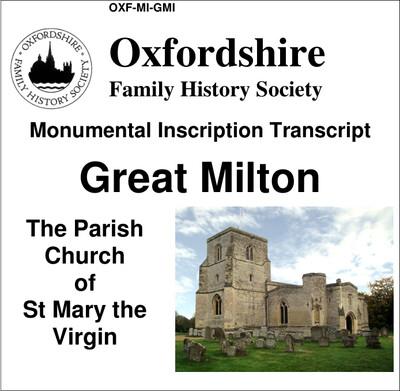 Great Milton, St Mary