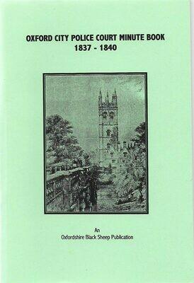 Oxford City Police 1837-1840