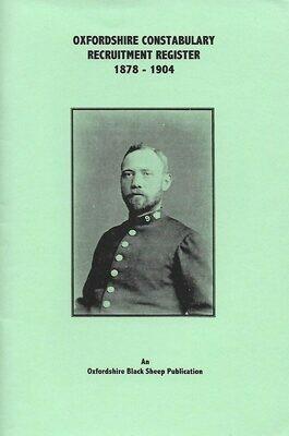 Oxon Constabulary Register 1878-1904