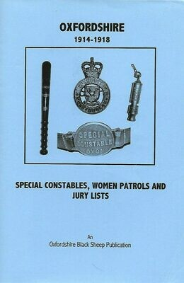 Oxon Special Constables etc