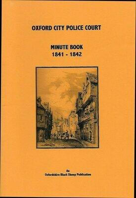 Oxford City Police 1841-1842