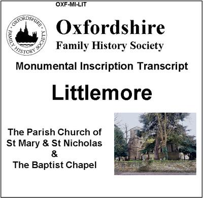 Littlemore, St Mary & St Nicholas + Baptist Chapel