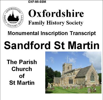 Sandford, St Martin