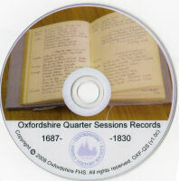 OXFORDSHIRE QUARTER SESSIONS RECORDS 1687 to 1830