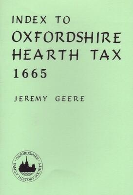 Oxfordshire Hearth Tax 1665