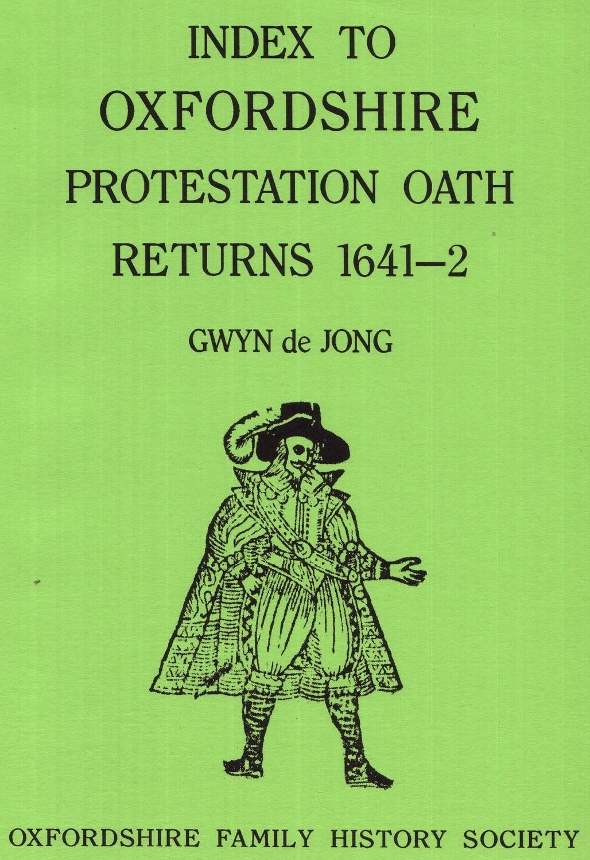 Oxfordshire Protestation Oath