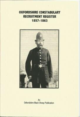 Oxon Constabulary Register 1857-1863