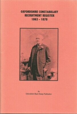 Oxon Constabulary Register 1863-1878
