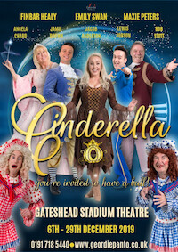 Cinderella by Geordie Panto