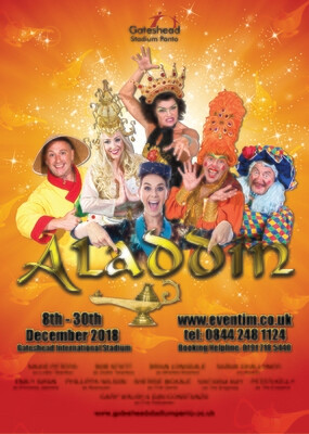 Aladdin by Geordie Panto
