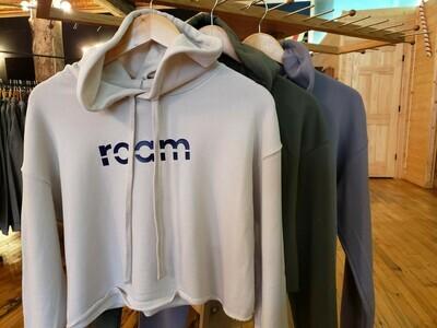crop hoodie-women's