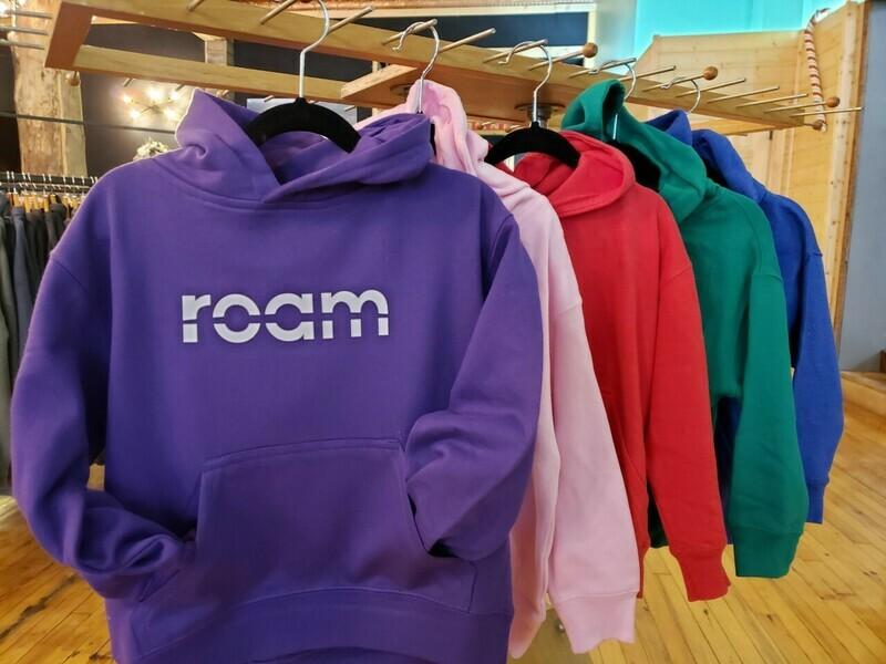 roam youth hoodie