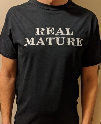 Real Mature - Crew Neck (Men's Sizes)