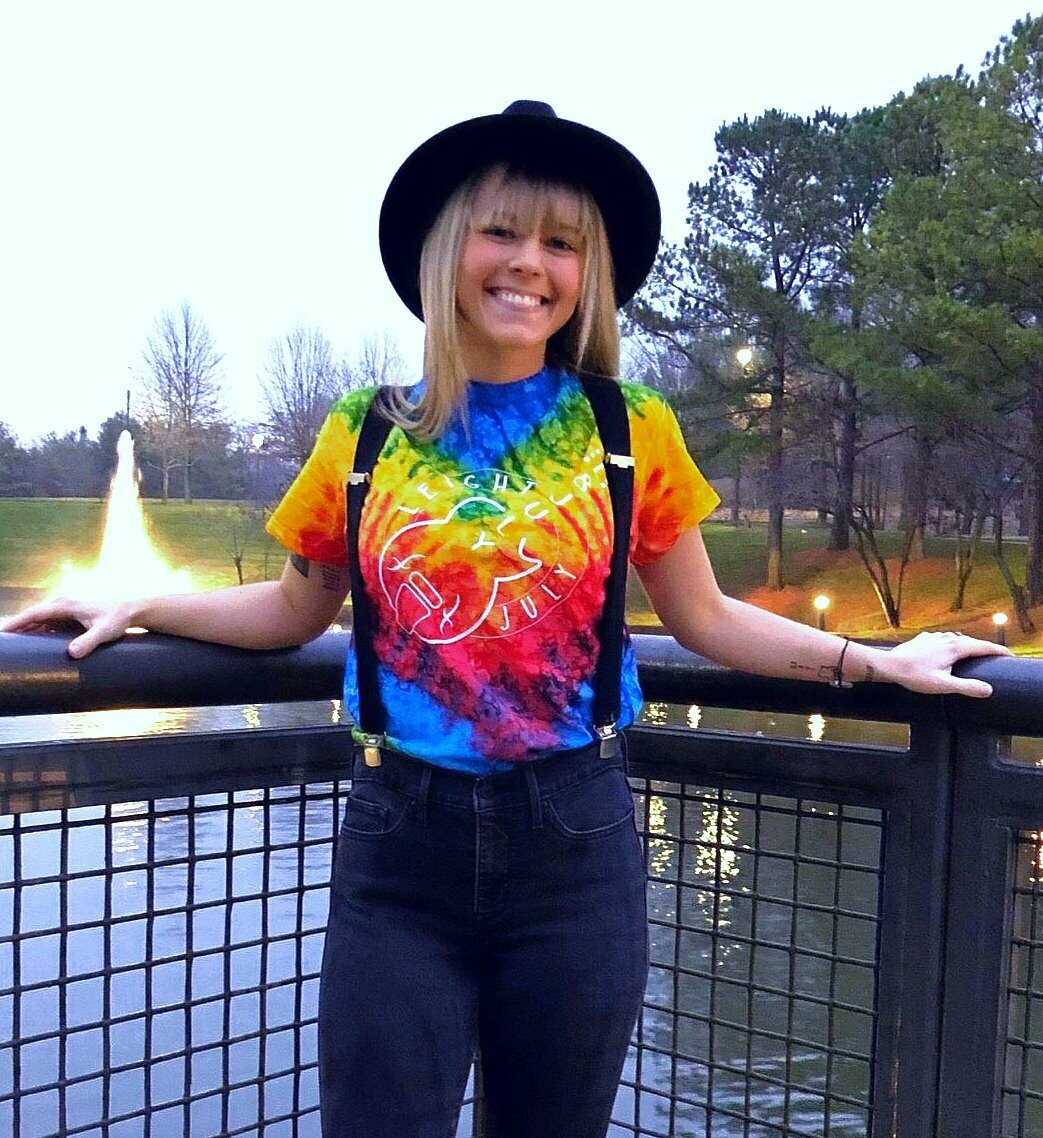 Short-Sleeve Tiedye Shirt