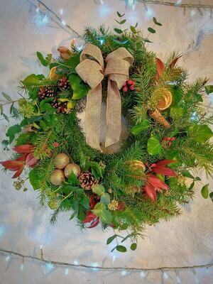 Christmas wreath - traditional