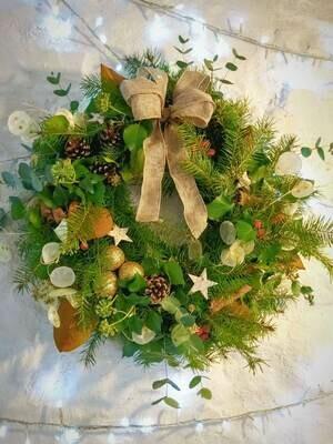 Christmas wreath - luxury