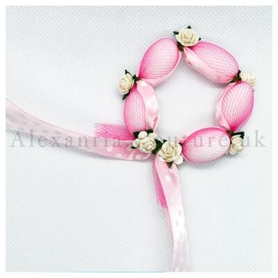 Pink Wreath Bombonieres