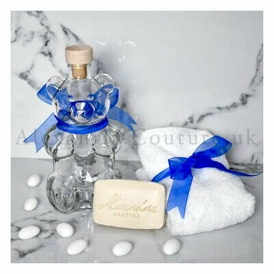 Teddy Bear Oil Set - Blue