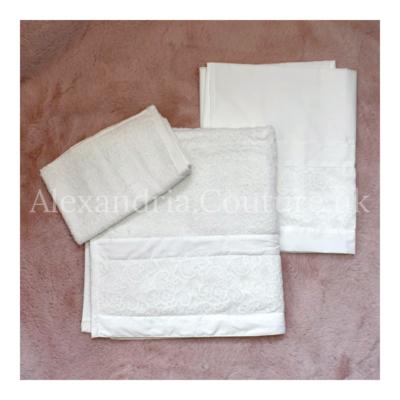 Cream Lace Miropania Set