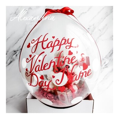 Valentine's Day Stuffed Balloon
