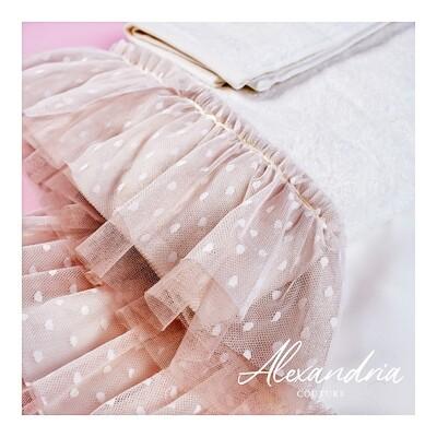 Cream & Dusty Pink Miropania Set