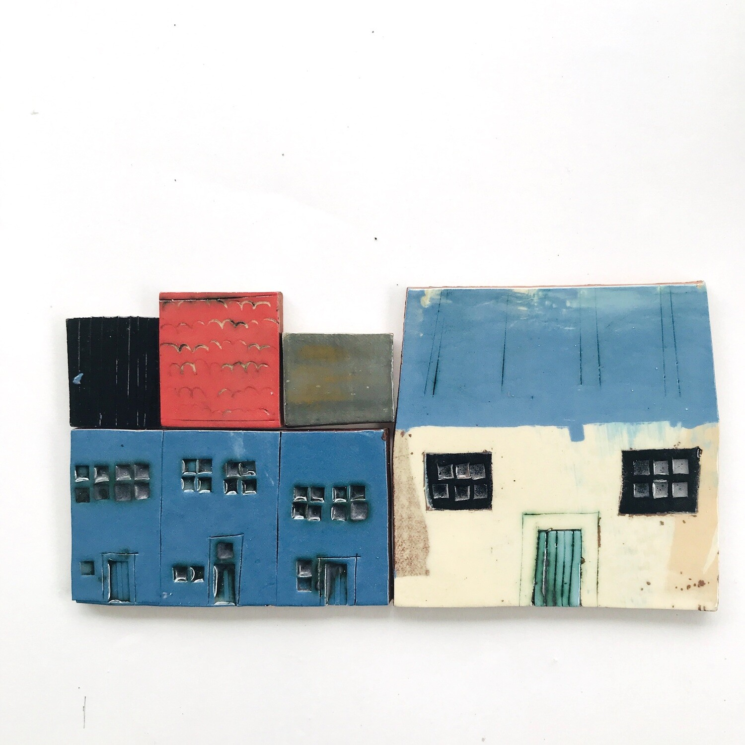 Short street, several desirable properties.  Measurements from left to right 180 x 88mm x 4mm, 5 pieces
