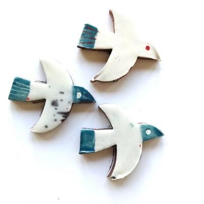 Birds in flight (little swifts)