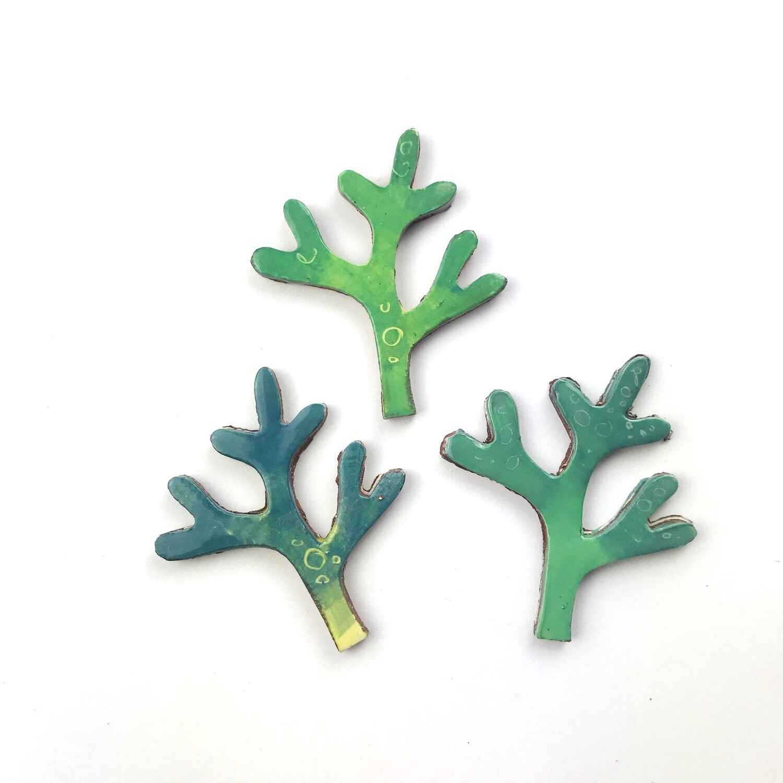 Wavy seaweed - 3 fronds