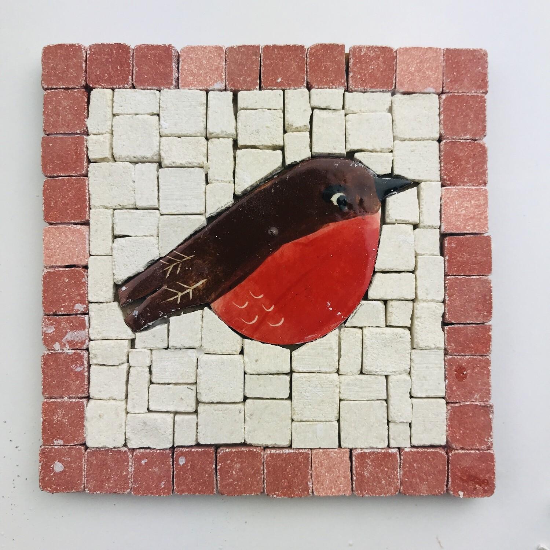 Mini mosaic kit - robin