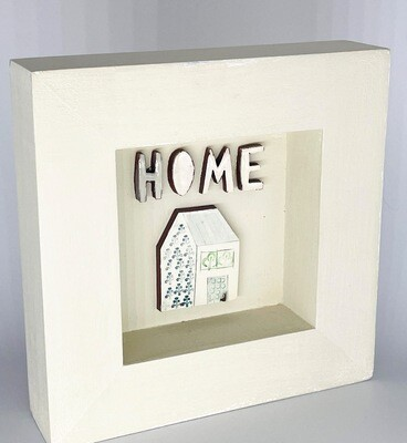Small cosy HOME in deep frame