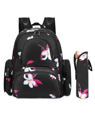Flower Back Pack Baby Bag - Cotton Collective