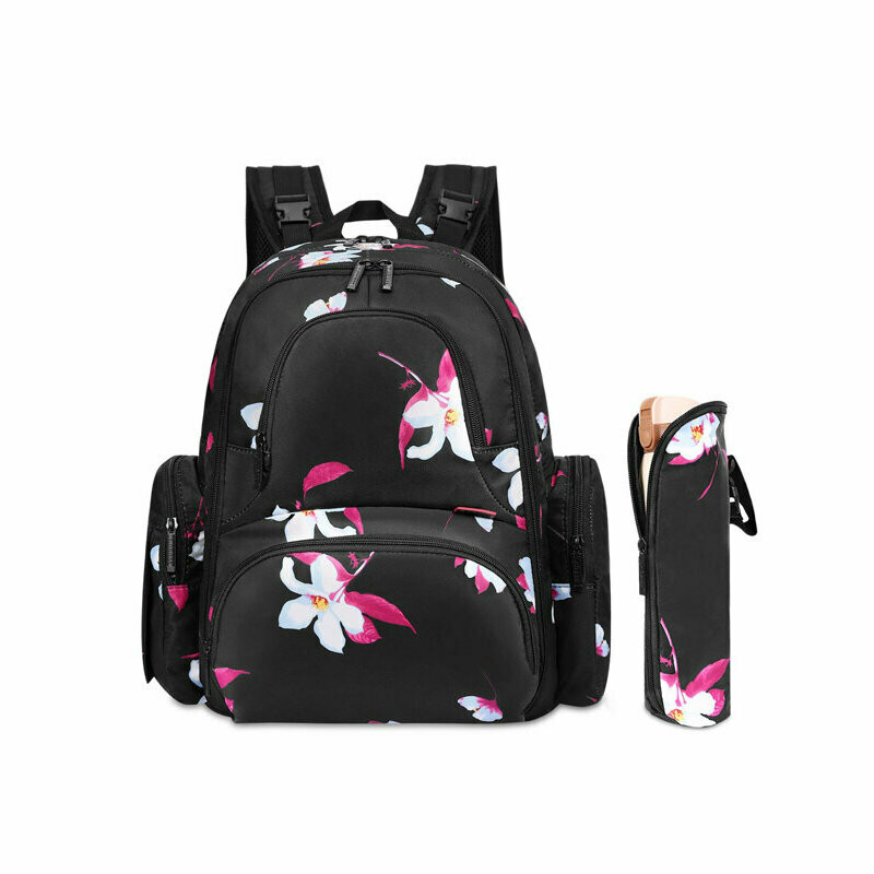 CC Flower Back Pack Baby Bag - Cotton Collective