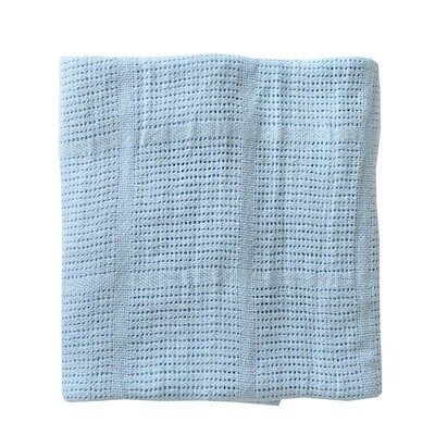 Cellular Blanket - Blue