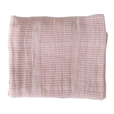 Cellular Blanket - Pink