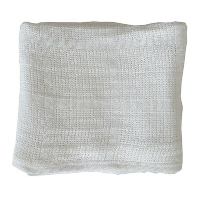 Cellular Blanket - White